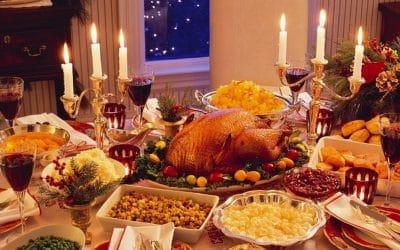 Celebraciones: deliciosas comidas, bebidas…